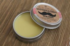 Vegan & cruelty free MOUSTACHE WAX The Rex Apothecary *ONCE UPON A CREAM | Vegan Beauty Blog*
