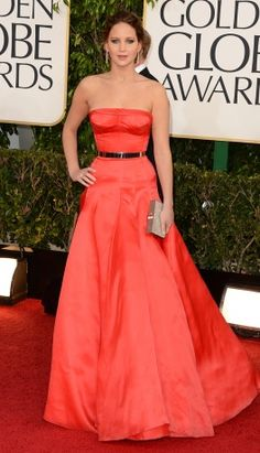 Jennifer Lawrence in Christian Dior Haute Couture