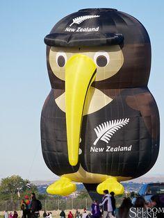 Kiwi by Seldom Scene Photography Air Ballon, Hot Air Balloon, Balloon Flights, Maori Designs, Kiwiana, Balloon Rides, All Things New, The Beautiful Country, Helium Balloons