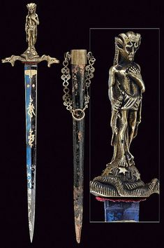 A rare ritual dagger, dating: mid-19th Century provenance: Europe