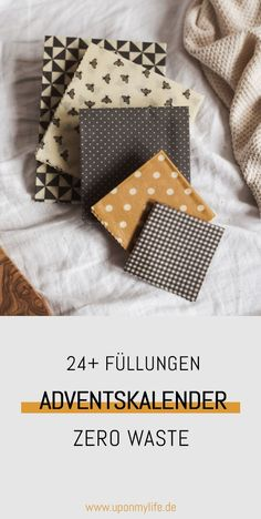 24 ideas on how you can fill the advent calendar sustainably. - UponMyLife - 24 ideas on how you can fill the advent calendar sustainably. Beeswax Candles, Diy Candles, Idee Diy, Chiffon, Christmas Decorations, Holiday Decor, Easter Wreaths, Zero Waste, Advent Calendar