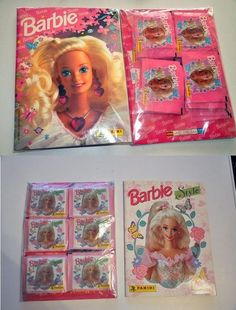 Álbum de cromos de Barbie.