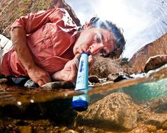 LifeStraw, filters as you drink