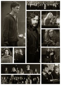 6.  Random photographs from the film Harry Potter and the Half-Blood Prince