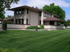 Harvey P. Sutton House - McCook NE Designed by Frank Lloyd Wright...1905. Nebraska's only FLW designed house.
