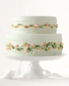 pretty vintage cake