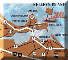Fares for Kelleys Island Ferry Boat Line for passenger and auto transportation from Marbelhead Ohio across Lake Erie and to and from Kelleys. Marblehead Ohio, Marblehead Lighthouse, Kelleys Island Ohio, Lake Erie Ohio, Catawba Island, Sandusky Ohio, Ferry Boat, Cedar Point, Lake Life