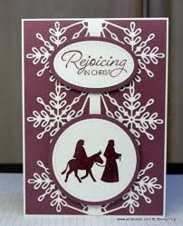 Stampin' Up! Swirly Snowflakes Thinlits Dies & Night in Bethlehem Christmas Cards 2017, Stamped Christmas Cards, Religious Christmas Cards, Christmas Card Crafts, Homemade Christmas Cards, Xmas Cards, Homemade Cards, Handmade Christmas, Holiday Cards