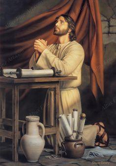 """Vocês, orem assim: """"Pai nosso, que estás nos céus! Santificado seja o teu nome. Venha o teu Reino; seja feita a tua vontade, assim na terra como no céu. Dá-nos hoje o nosso pão de cada dia. Perdoa as nossas dívidas, assim como perdoamos aos nossos devedores. E não nos deixes cair em tentação, mas livra-nos do mal, porque teu é o Reino, o poder e a glória para sempre. Amém.  Mateus 6:9-13"""