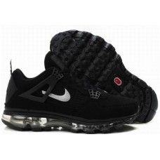 best cheap a8c71 566fb Jordan 4 air max fusion mens black white-logo shoes. Damion Osborne ·  Possibilities · Nike Free ...