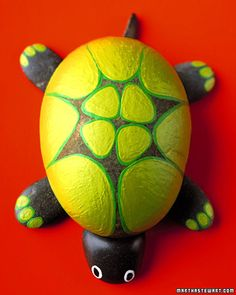 Rock Tortoise!  Great craft for children to do