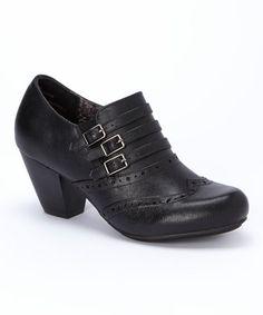 Look what I found on #zulily! Black Collette Bootie by Rialto #zulilyfinds