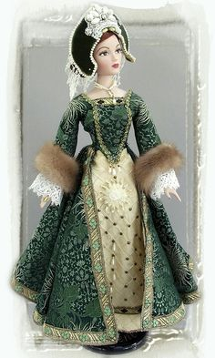 Anne Boleyn Barbie doll