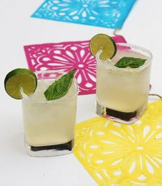 Basil Lime Margarita