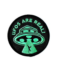 UFOs Are Real! Patch