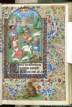Book of Hours, MS M.1093 fol. 57r - Images from Medieval and Renaissance Manuscripts - The Morgan Library & Museum