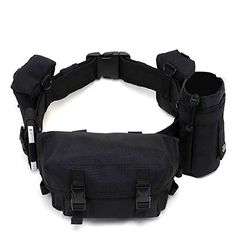 Pellor Black Utility Tool Pouch Detachable Tactical Pack Sling Hiking Walking Bag Waist Pack * Check this awesome product by going to the link at the image.(This is an Amazon affiliate link and I receive a commission for the sales)