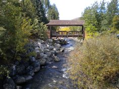 My favorite bridge in Breckenridge, Colorado