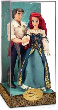 Disney Fairytale Designer Collection Little Mermaid Ariel Eric Collectible Doll Set Limited Edition one of only 6000 doll sets made globally