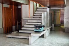 carlo scarpa olivetti stair - Google Search