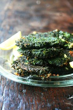 Ottolenghi's Swiss chard fritters
