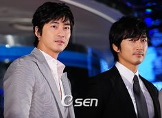 My two K-drama crushes...Kang Ji Hwan (Lie To Me, Coffee House) and Song Seung Hyun (My Princess, Summer Scent).