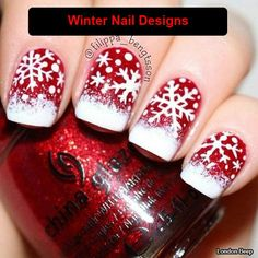 121 best christmas nails acrylic ideas - page 32 ~ my.me - Nails 121 best christmas nails acrylic ideas – page 32 ~ my.me 121 best christmas nails acrylic ideas – page 32 ~ my. Christmas Gel Nails, Holiday Nail Art, Christmas Nail Art Designs, Winter Nail Art, Winter Nails, Christmas Snowflakes, Christmas Makeup, Simple Christmas, White Christmas