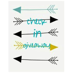 Check in giveaway