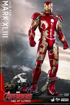 Hot Toys debuts Iron Man's Mark 43 suit from 'Avengers: Age of Ultron'