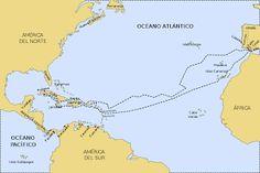 Segundo viaje de Cristobal Colon : Historia Universal
