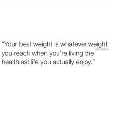 Your best weight...