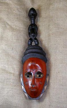 African Masks - Guro Mask 48 - Front - Click to return to the top of the page.