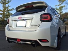 JDM MBRO LED tail lamps for Subaru XV & 2014~ Impreza Sports