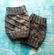 The Hurricane Boot Cuff Liners - via @Craftsy Pattern Free #knitting