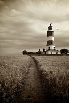 rain-storms: Happisburgh Lighthouse.Work of art....