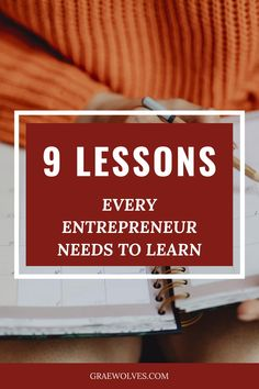 The 9 lessons will send you flying in the direction of entrepreneurial success! Business Advice, Online Business, Work From Home Tips, Website Themes, Life Purpose, Lead Generation, Pinterest Marketing, Creative Business, Need To Know