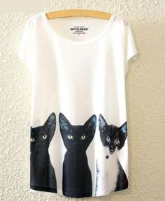 Treat yourself (or your cat) to something new!  All Ears Cat T-Shirt Grab yours here: http://showyourcatlove.com/products/all-ears-cat-t-shirt?utm_campaign=social_autopilot&utm_source=pin&utm_medium=pin