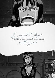 Favorite Nico Robin moment, so awesome and sad