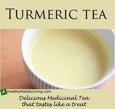 Are you thinking you would like to add turmeric to your diet but not sure how? Try Turmeric Tea it's delicious