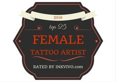 Top 25 Female Tattoo Artists You Should Know - Ink Vivo