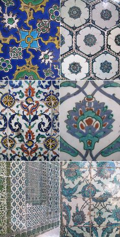 More beautiful tiles from  Istanbul