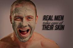 Cosmética vs Machos A maioria dos homens acha que cremes e cosmética é coisa de mulheres. Nós mulheres, tentamos convencê-los que o cuidado com a pele é importante, até porque não queremos que eles se passeiem ao nosso lado, daqui por uns anos, com um ar bem mais velho que nós…mas nem assim!!! Cremes, limpeza …
