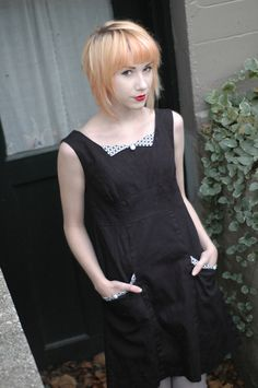 Haute couture Custom Made Colette Patterns Dress  Rooibos  sewn by Tracy McElfresh. $149.99, via Etsy.