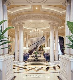 "Luxury Mansion Interior "" Qatar """