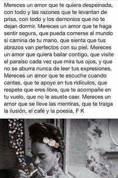 Mereces un amor..