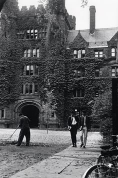 1950s Yale - those ivy covered walls.