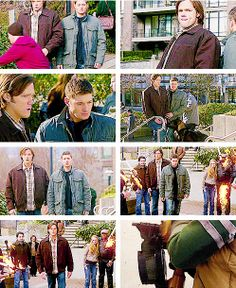 [gifset] 6x17 My Heart Will Go On #SPN #Dean #Sam It's moments like this when you see Sam's inner child.