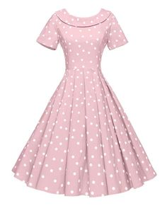 Looking for GownTown GownTown Women's Polka Dot Vintage Dresses Audrey Hepburn Style Party Dresses ? Check out our picks for the GownTown GownTown Women's Polka Dot Vintage Dresses Audrey Hepburn Style Party Dresses from the popular stores - all in one. Pin Up Dresses, Pretty Dresses, Beautiful Dresses, Girls Dresses, 1950s Dresses, Dresses Dresses, Long Dresses, 1950s Fashion Dresses, Short Beach Dresses