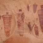 Pictographs in Horseshoe Canyon, UT