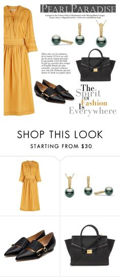 """Divine collection"" by pearlparadise ❤ liked on Polyvore featuring Vanessa Bruno, Rupert Sanderson, Forever 21, Anja, women's clothing, women's fashion, women, female, woman and misses"